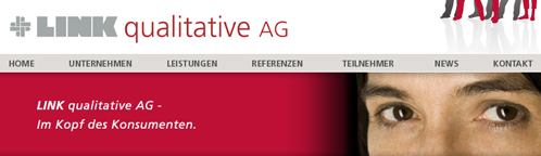 LINK qualitative AG website